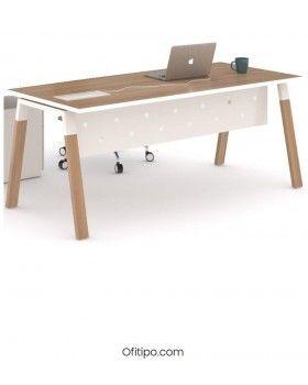 Mesa-despacho-Pasam-acacia-suave-canto-blanco-ofitipo 5