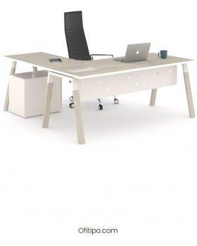 Mesa-despacho-Pasam-en-l-roble-canto-blanco-ofitipo 3