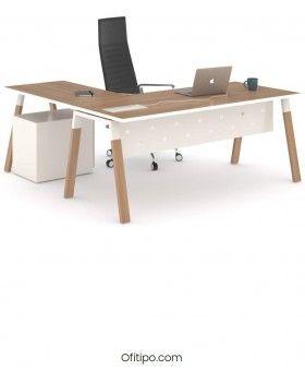 Mesa-despacho-Pasam-en-L-acacia-suave-canto-blanco-ofitipo 5