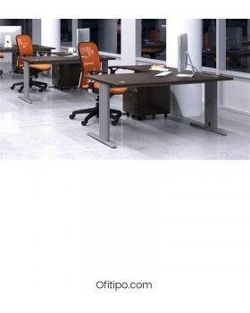 Mesa operativa Careco en L ofitipo 8