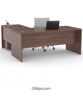 Mesa operativa oficina Colpa en L ofitipo 5