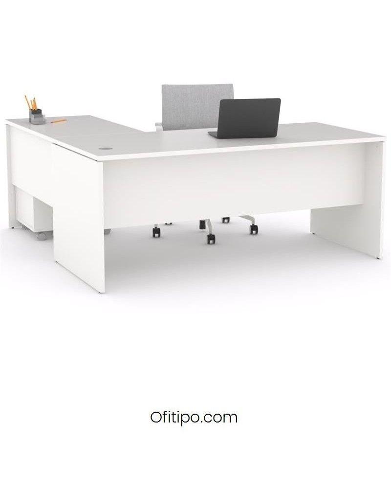 Mesa operativa oficina Colpa en L ofitipo 1