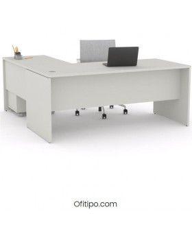 Mesa operativa oficina Colpa en L ofitipo 7