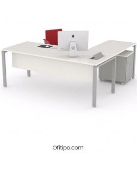 Mesa oficina operativa Eupor en L ofitipo 5