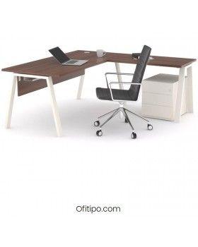 Mesa oficina operativa Komat en L ofitipo 3