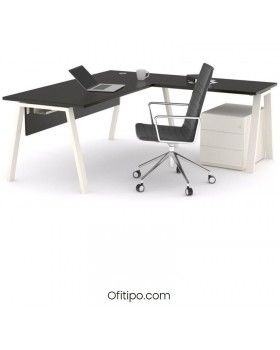 Mesa oficina operativa Komat en L ofitipo 19