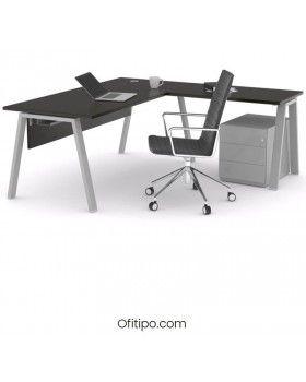 Mesa oficina operativa Komat en L ofitipo 20