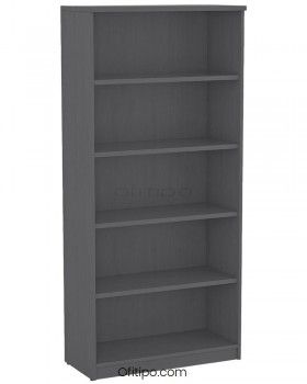 Armario estantería de madera alto Emese sin puertas ofitipo 2