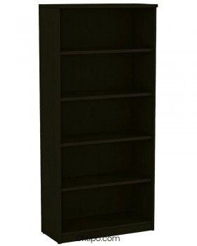 Armario estantería de madera alto Emese sin puertas ofitipo 5
