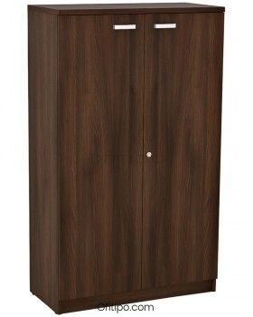 Armario de madera mediano Emese con puertas ofitipo 6