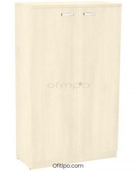 Armario de madera mediano Emese con puertas ofitipo 8