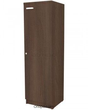 Armario de madera mediano Emese estrecho con puerta ofitipo 2