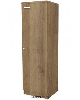 Armario de madera mediano Emese estrecho con puerta ofitipo 3