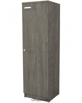 Armario de madera mediano Emese estrecho con puerta ofitipo 6