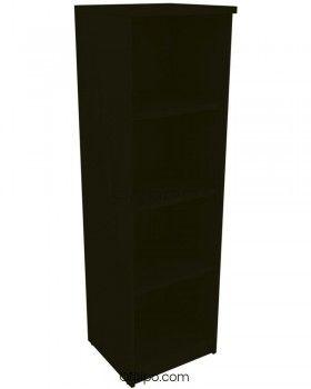 Armario de madera mediano Emese estrecho sin puerta ofitipo 10