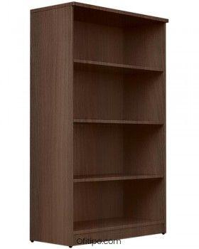 Armario estantería de madera mediano Emese sin puertas ofitipo 7