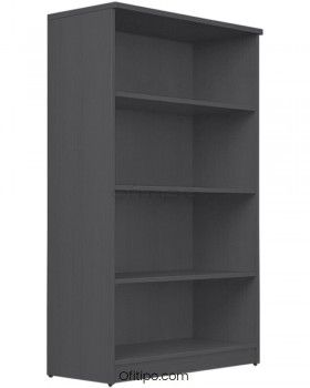 Armario estantería de madera mediano Emese sin puertas ofitipo 9