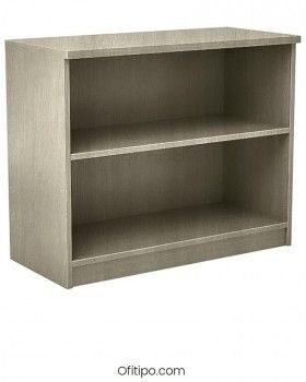 Armario estantería de madera bajo Emese sin puertas Ofitipo 10