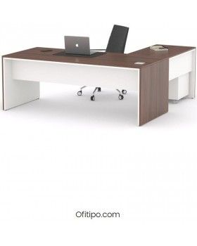 Mesa de despacho Eslem en L ofitipo 9