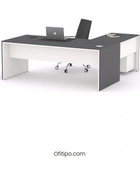 Mesa de despacho Eslem en L ofitipo 6