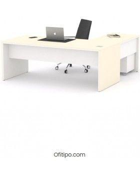 Mesa de despacho Eslem en L ofitipo 10