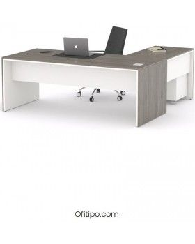Mesa de despacho Eslem en L ofitipo 11