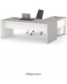 Mesa de despacho Eslem en L ofitipo 12