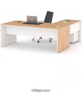 Mesa de despacho Eslem en L ofitipo 13