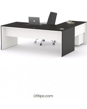 Mesa de despacho Eslem en L ofitipo 1