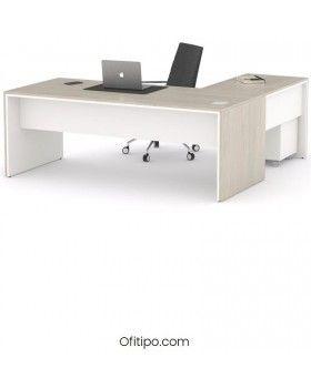 Mesa de despacho Eslem en L ofitipo 7