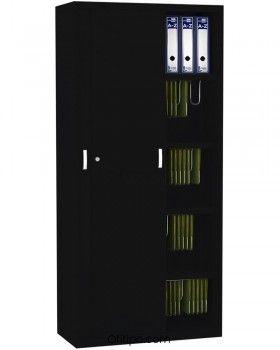 Armario metálico alto Arti con puertas correderas ofitipo 1
