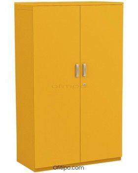 Armario metálico mediano Arti con puertas ofitipo 3