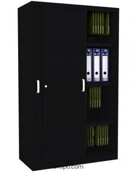 Armario metálico mediano Arti con puertas correderas ofitipo 9