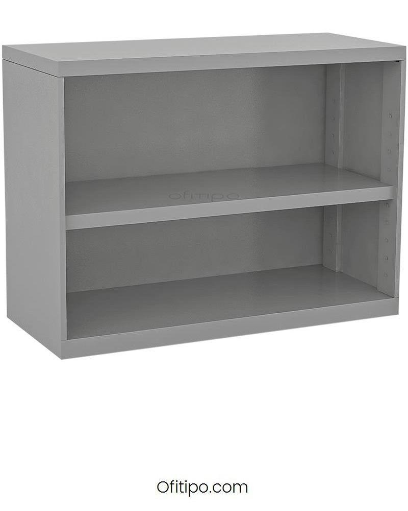 Armario estantería metálico bajo Arti sin puertas ofitipo 1