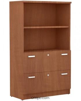 Armario archivador de madera mediano Emese ofitipo 11