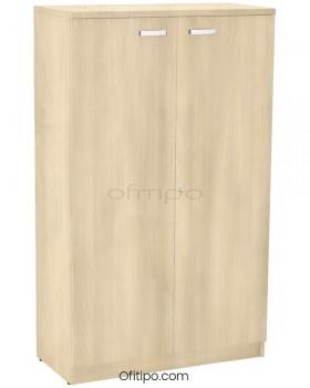 Armario de madera mediano Emese con puertas  - 12