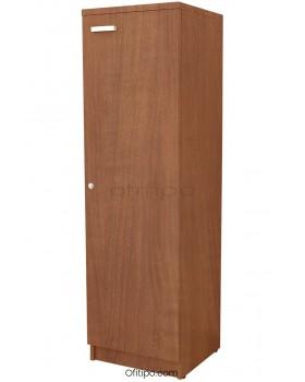 Armario de madera mediano Emese estrecho con puerta ofitipo 12