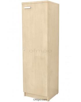 Armario de madera mediano Emese estrecho con puerta ofitipo 11