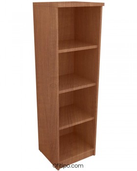 Armario de madera mediano Emese estrecho sin puerta ofitipo 11