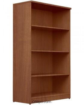 Armario estantería de madera mediano Emese sin puertas ofitipo 13