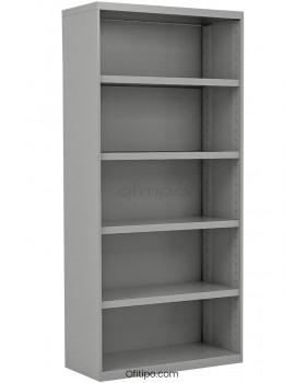 Armario estantería metálico alto Arti sin puertas ofitipo 1