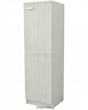 Armario de madera mediano Emese estrecho con puerta ofitipo 13