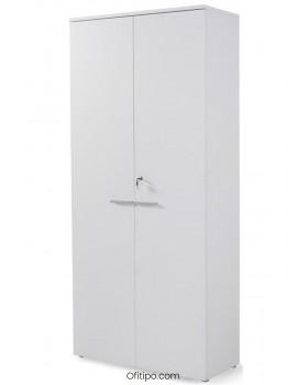 Armario de madera alto Borta con puertas ofitipo 3