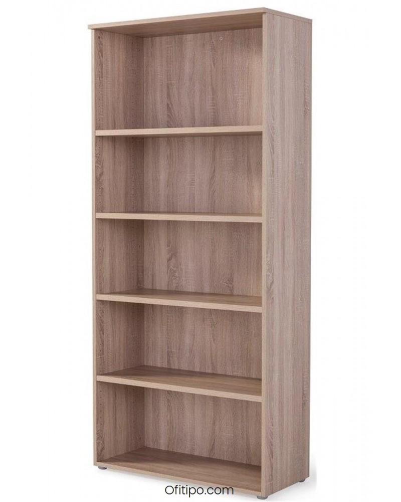 Armario estantería de madera alto Borta sin puertas ofitipo 1