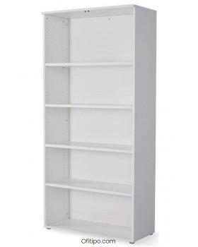 Armario estantería de madera alto Borta sin puertas ofitipo 2