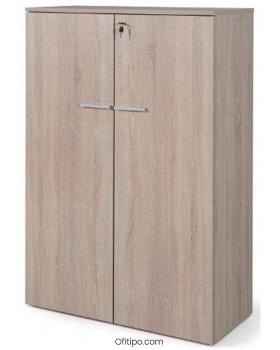 Armario de madera mediano Borta con puertas olmo ofitipo 4
