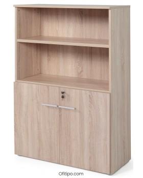 Armario de madera mediano Borta con puertas bajas olmo ofitipo 2