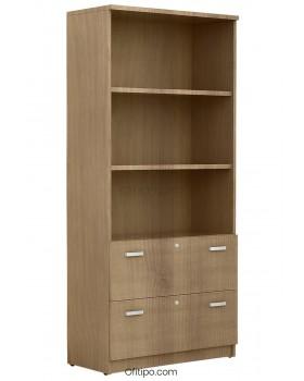 Armario archivador de madera alto Emese ofitipo 2