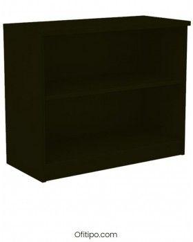 Armario estantería de madera bajo Emese sin puertas Ofitipo 9