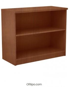 Armario estantería de madera bajo Emese sin puertas Ofitipo 11
